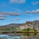 old castle by a loch